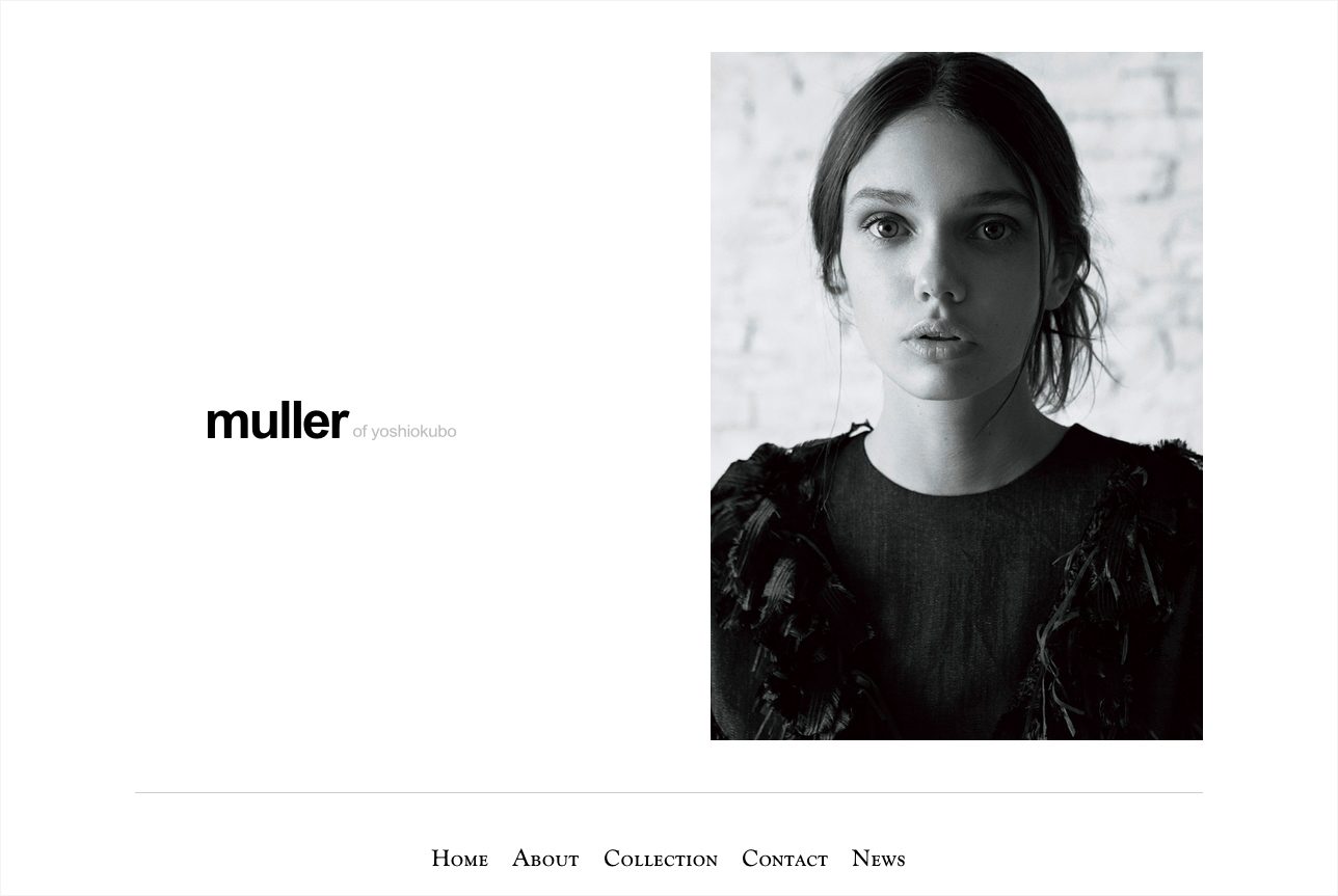 muller of yoshiokubo website