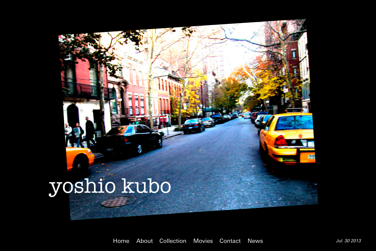 yoshiokubo website